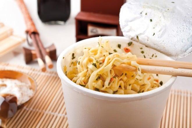 Dangers des soupes instantanées