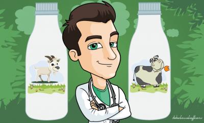 Lait de chèvre ou lait de vache: Pourquoi le lait de chèvre est-il meilleur pour la santé?