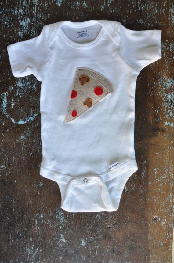 tshirt bébé pizza
