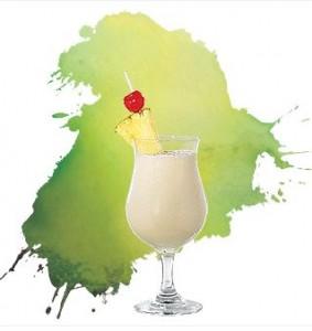 PINA colada cocktails les plus caloriques