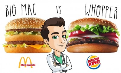 BIG MAC VS WHOPPER lequel est meilleur