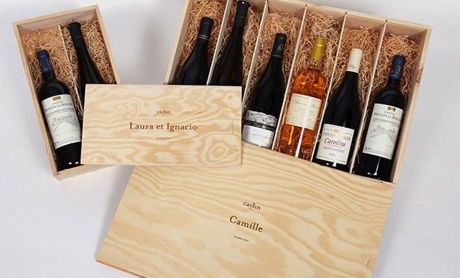 caissin cadeau d'exception pour amateurs de vin