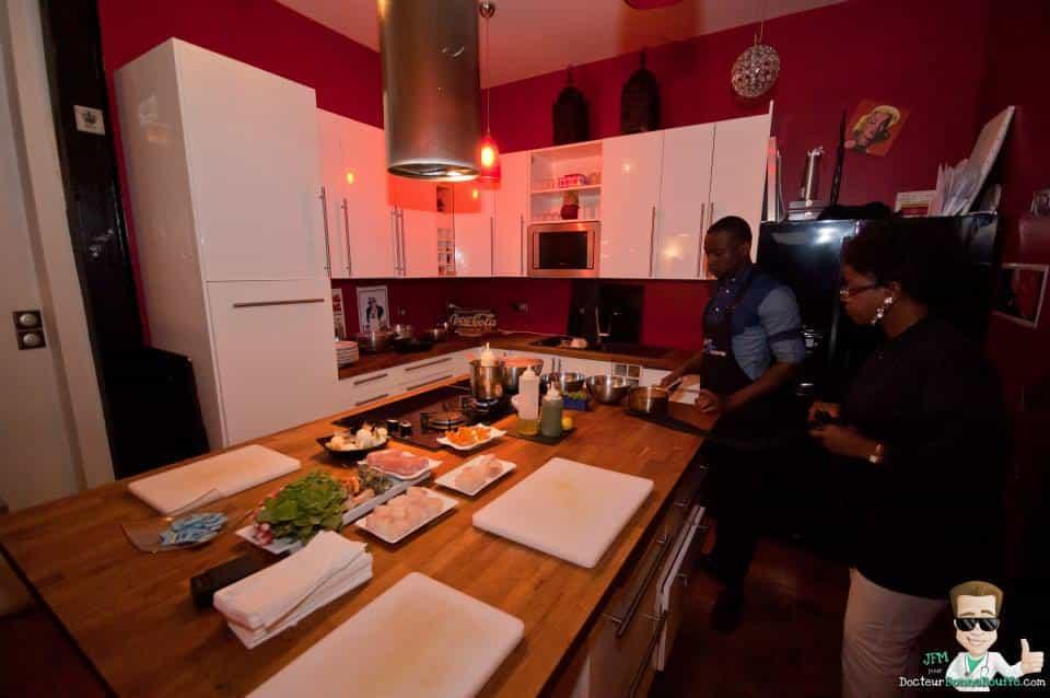 Le Chef est Une Femme (LCEUF) cours de cuisine Paris et Région Parisienne