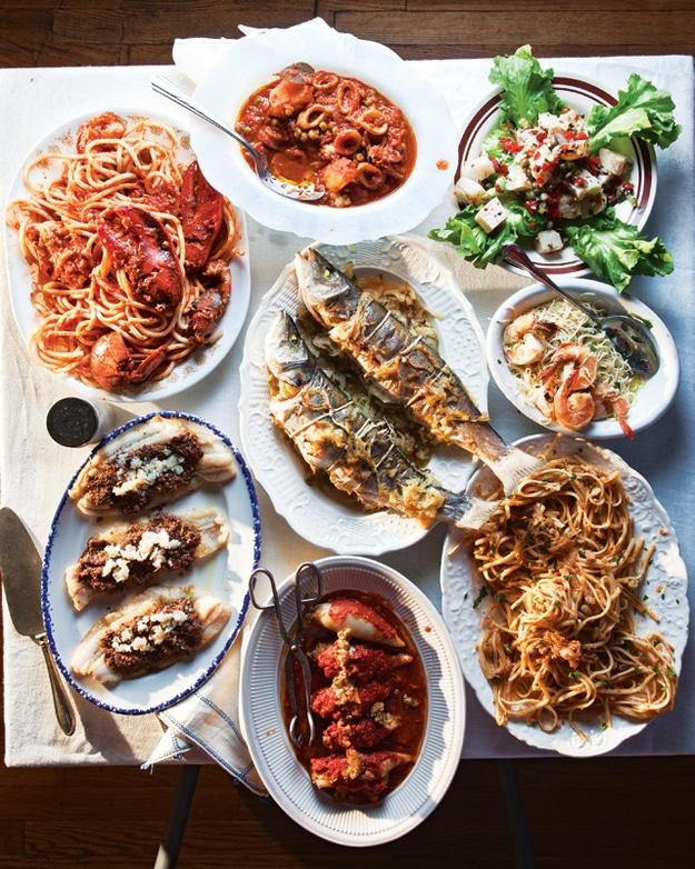 Plats traditionnels italiens pour les fêtes de Noel: le poisson
