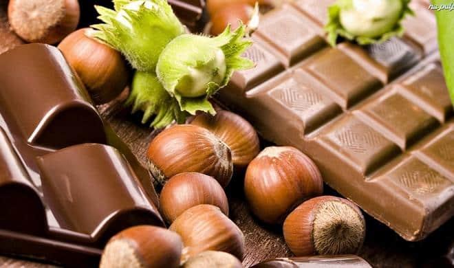 Chocolat et noisettes
