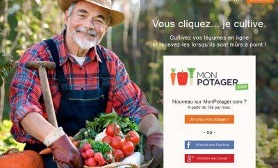 MonPotager.com: le premier concept de potager à distance