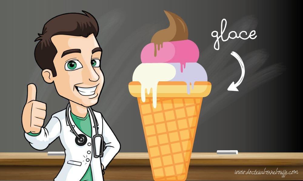 bienfaits glaces santé