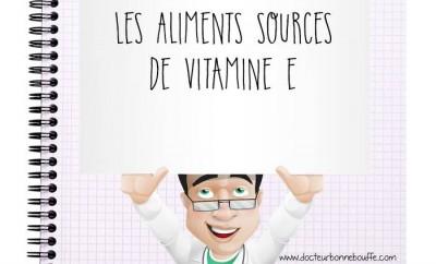 Cours les sources de vitamine E