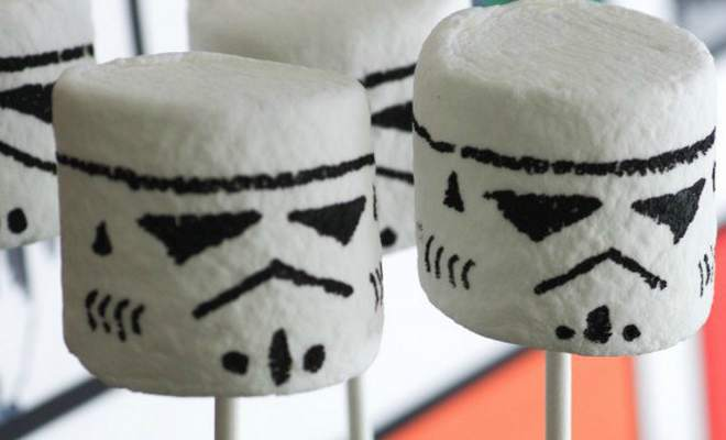 marshmallows star wars