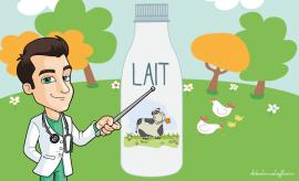 laits sans lactose intolérance au lactose