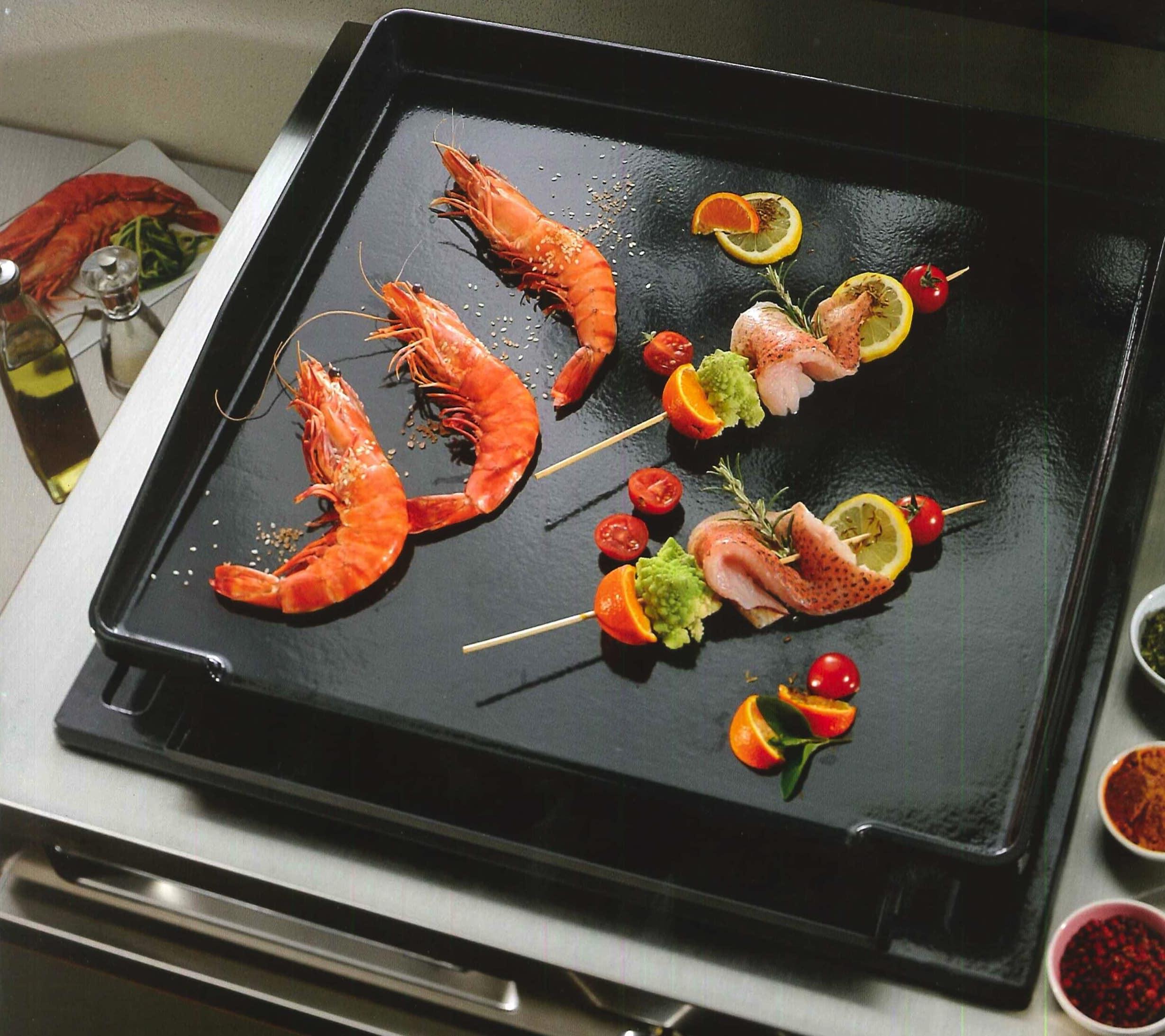 11 bonnes raisons de cuisiner la plancha for Cuisiner avec une plancha