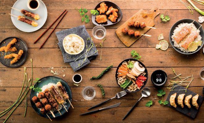 Nouvelle carte de Planet Sushi