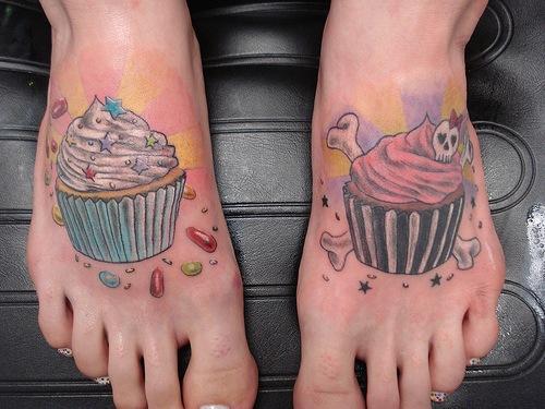 les tatouages les plus fous : alimentation humour