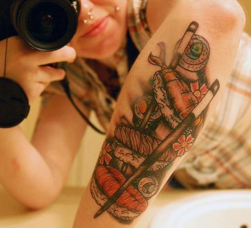 Alimentation: Les 20 tatouages les plus fous!