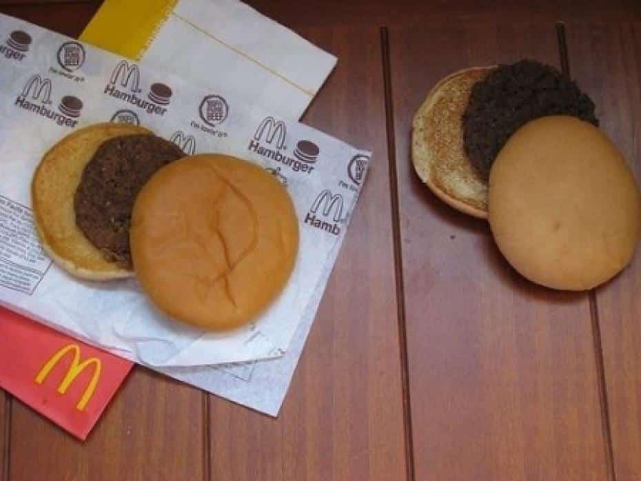 Le plus vieux hamburger du monde!