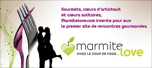 MarmiteLove, un site de rencontres pour les passionés de cuisine et de bonne bouffe