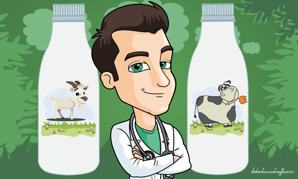 Lait de chevre ou lait de vache: Pourquoi le lait de chevre est-il meilleur pour la sante?