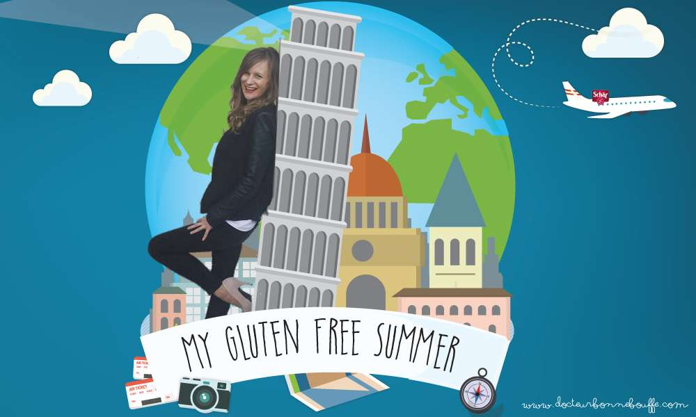 Launch of My Gluten Free Summer 2016 : 38 days travelling gluten-free in Italy!
