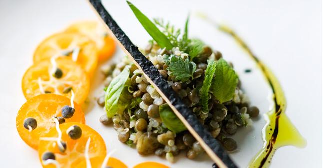 Salades d'étés - Recette de salade de lentilles