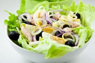 Salades d'étés - Recette de salade nicoise traditionnelle