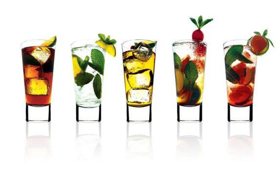 Classement des cocktails en fonction de leurs calories
