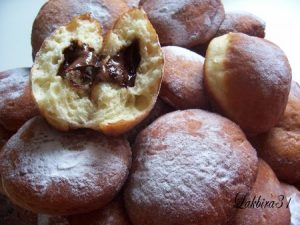 beignets nutella chocolat fondant