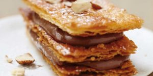 mille feuille nutella gourmand