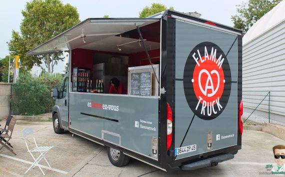 Flammatruck, le premier foodtruck alsacien débarque à Paris!