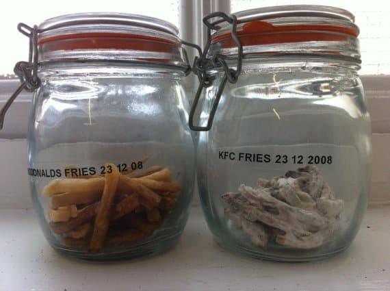 Face cachée des fast foods: Comparaison Frites McDo/Frites KFC: 3 ans après