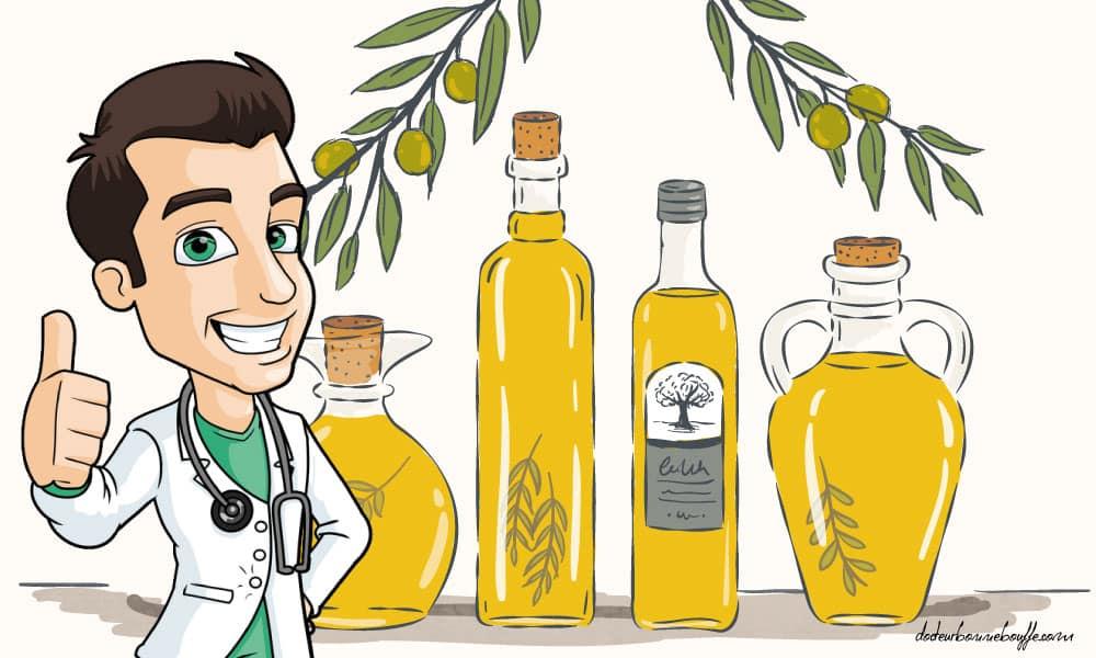 Quelles huiles sont les plus légères ?