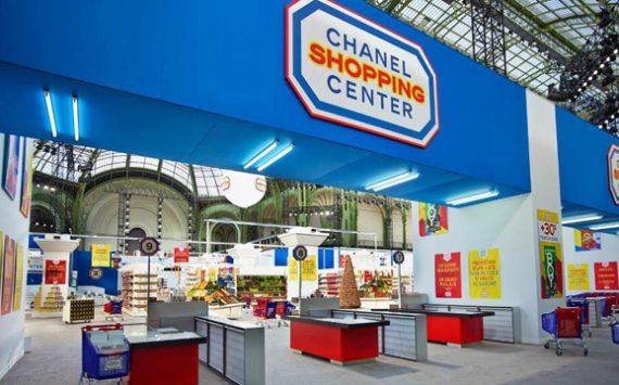 Karl Lagerfeld lance le supermarché Chanel au Grand Palais