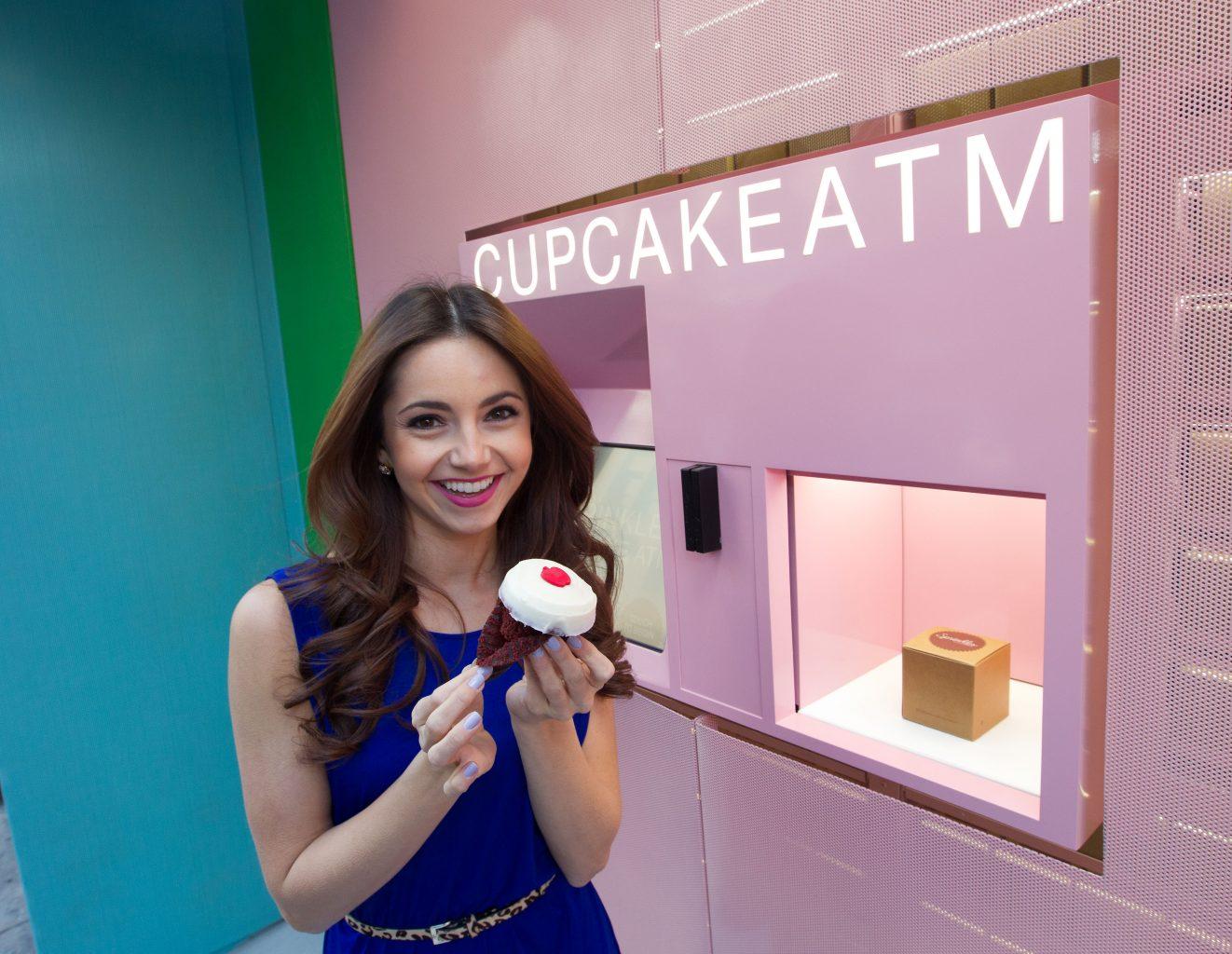 distributeur automatique cupcakes
