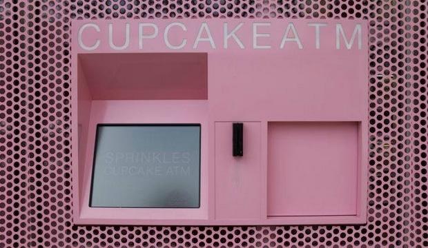 Les New Yorkais testent le premier distributeur automatique de cupcakes