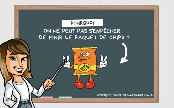Chips : pourquoi on ne peut pas s'empêcher de finir le paquet ?