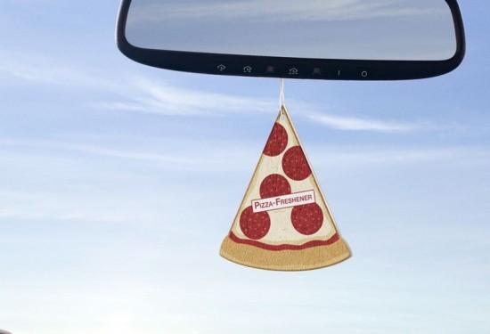 Le Désodorisant parfum Pizza!