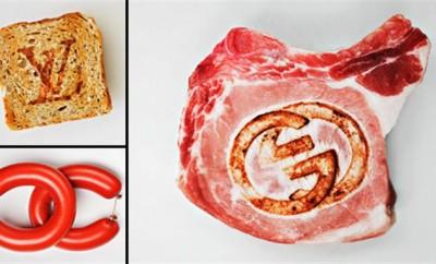 Quand les aliments du quotidien se transforment en logos emblématiques