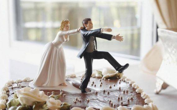 La nouvelle mode des Divorce Cakes