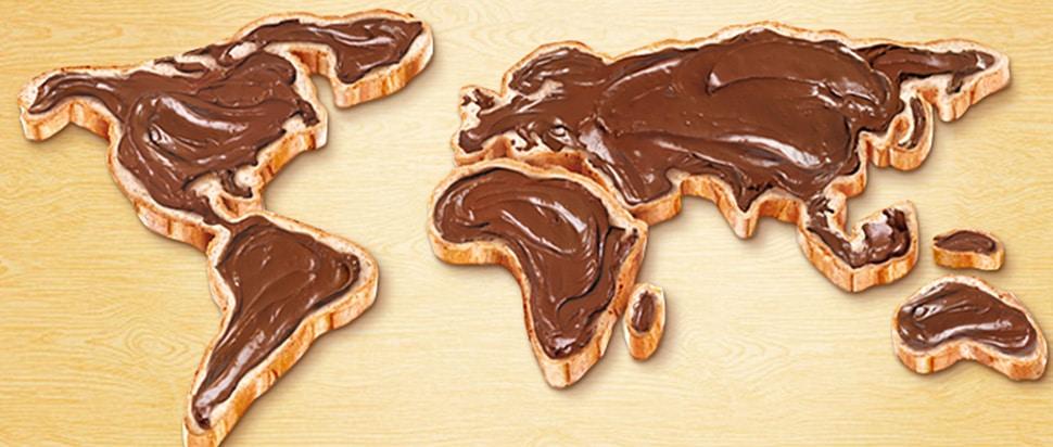 nutella, la pâte à tartiner préférée des enfants du monde entier