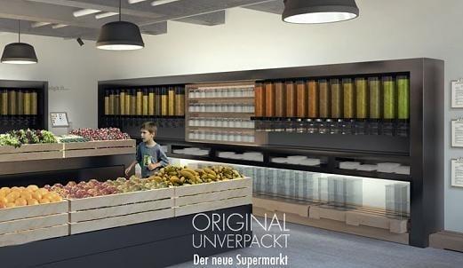 """Ouverture du premier supermarché """"zéro emballage"""""""