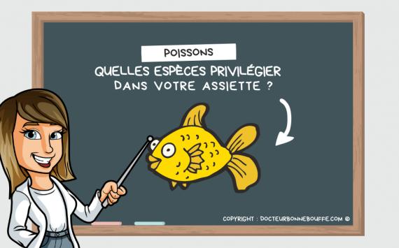 Consommation de poisson : Quelles espèces privilégier ?