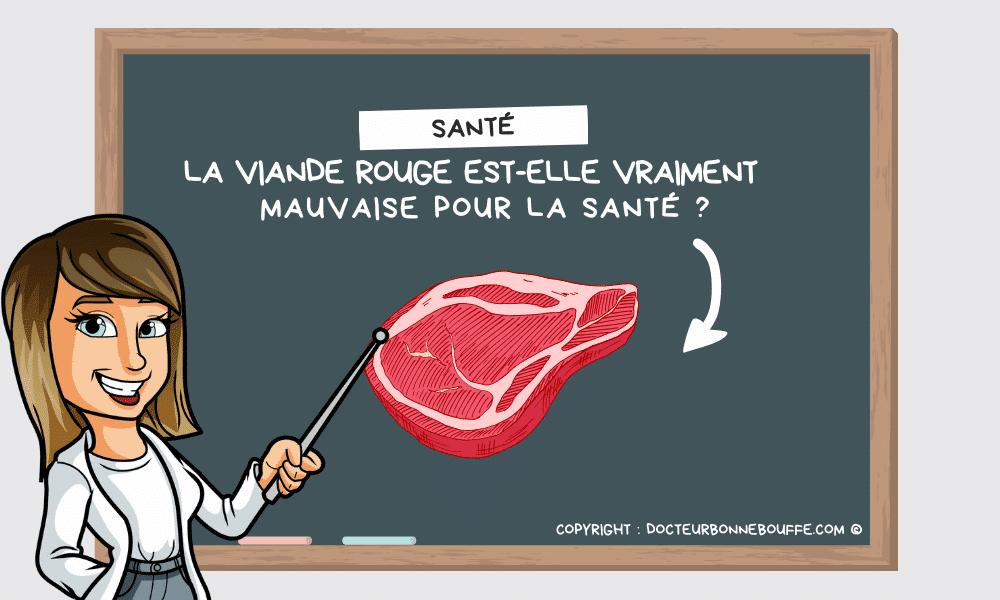 Viande rouge: vraiment mauvaise pour la santé?