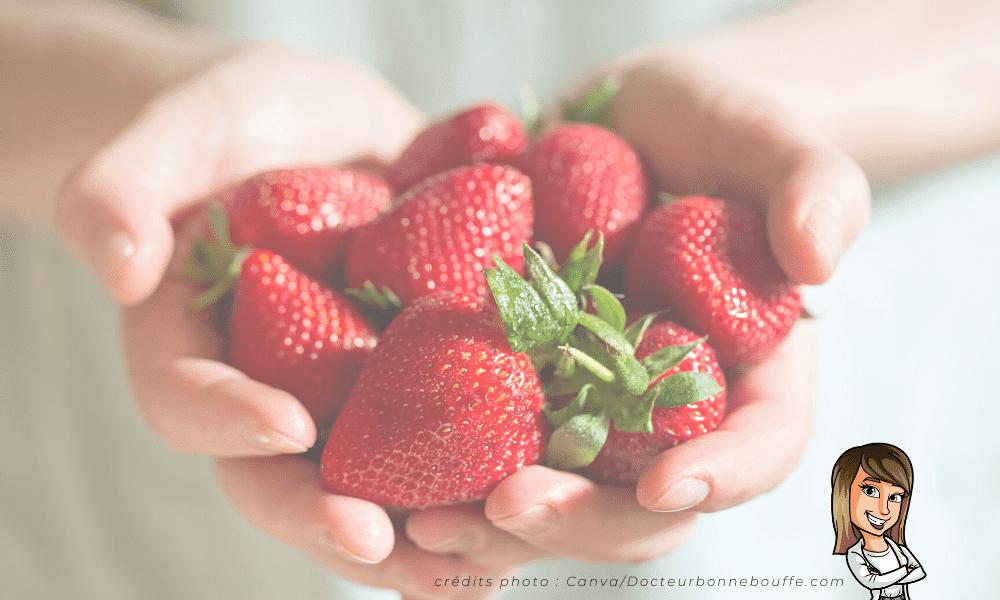 fraises fraîches recette