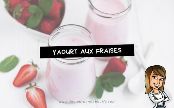 Yaourt végétal fait-maison, aux fraises, sans yaourtière (recette facile ⭐)