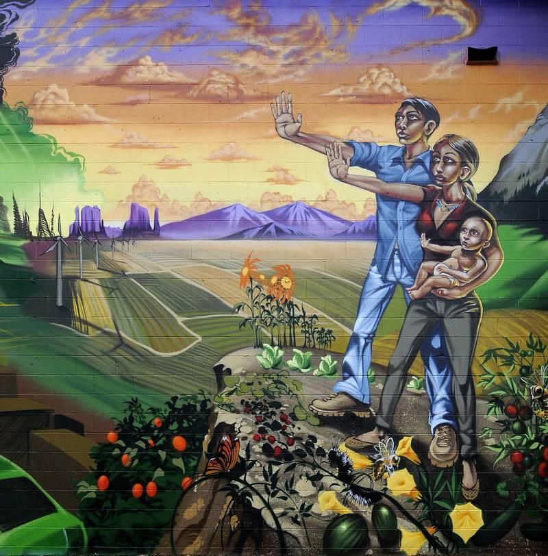 Street Art contre les OGM