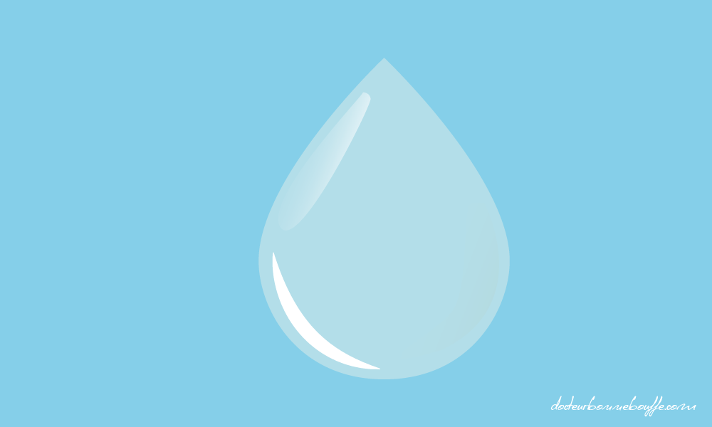 goutte d'eau hydratation organisme