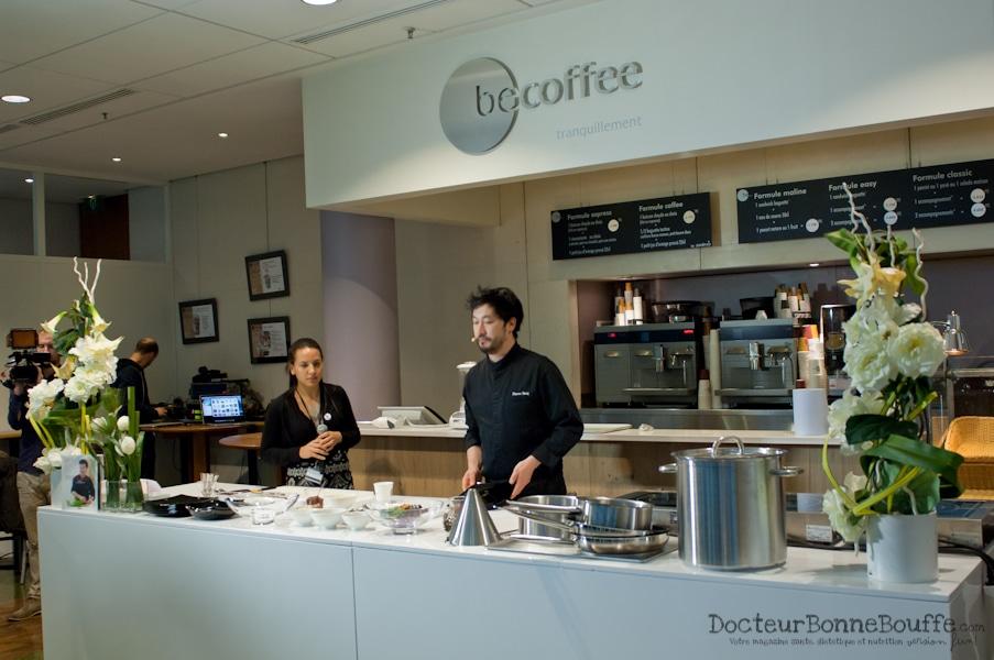 Le Chef Pierre Sang Boyer en cuisine pour les diabétiques!