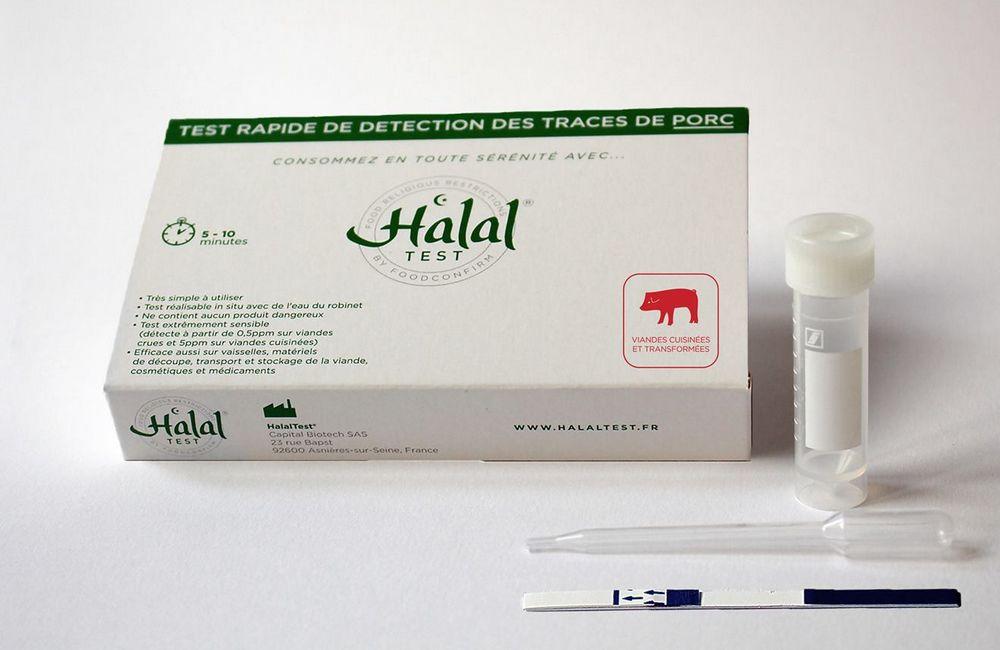 Halal Test dépistage de viande de porc