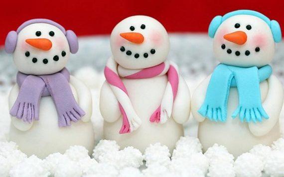 Comment faire des personnages de Noël en pâte à sucre ?