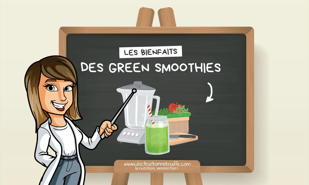 smoothies verts bienfaits santé