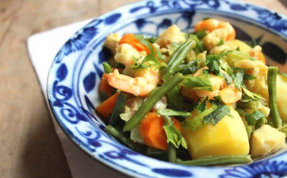 Recette santé en moins de 20 min : Le Wok de fruits de mer aux légumes!